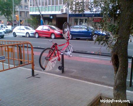 bicing de barcelone