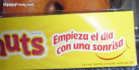 donut - empieza el día con una sonrisa