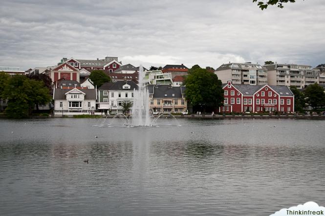 lago artificial Breiavatnet