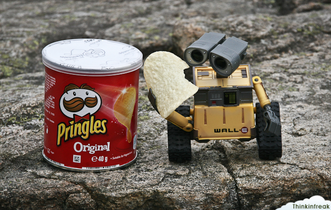 Wall-e Pringles