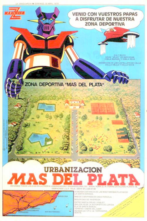 Mazinger Z Mas del Plata