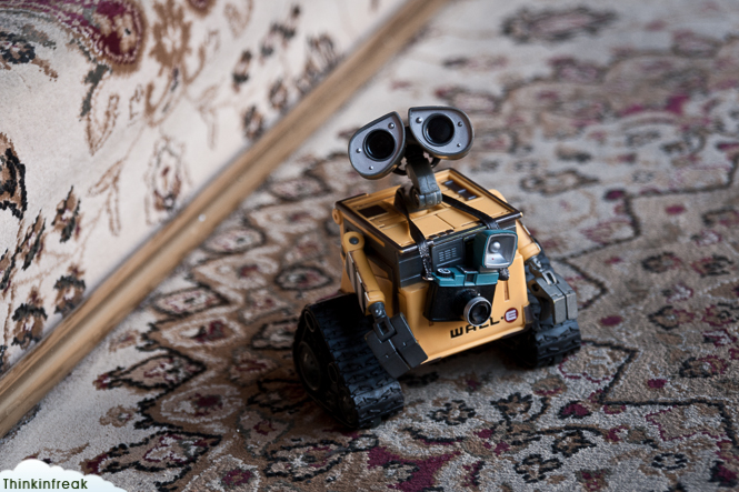 Wall-E en Tashkent